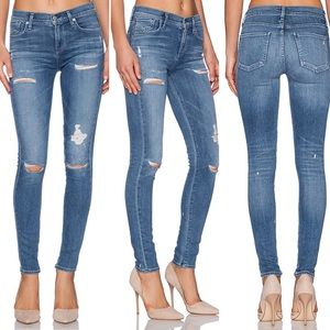 AGOLDE Sophie High Rise Skinny Cannes Jeans